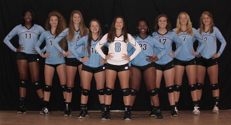 Carolina Islanders Volleyball Team